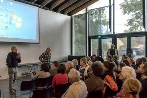 Conférence au Centre céramique - © Pierre Ducrocq